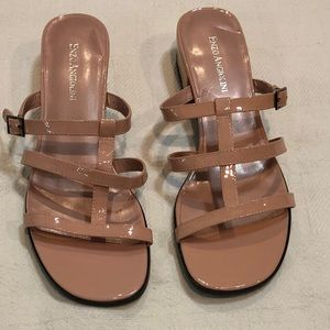 NWOT-Enzo Angiolini Martas Leather Sandals sz9M